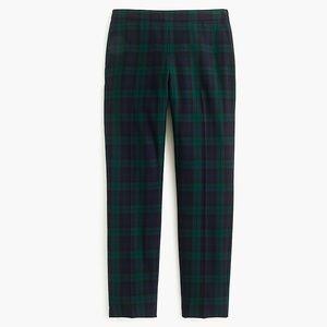 New J.Crew Martie Slim Crop Pant in Stretch Wool 6